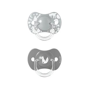 Suavinex Dudlík SX Pro Fyziologický 6/18m Fox stříbrný