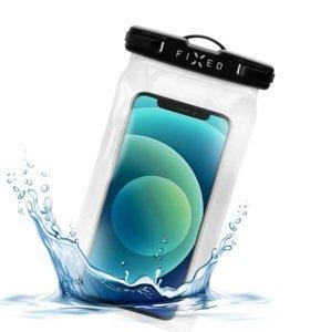 Fixed Voděodolné plovoucí pouzdro na mobil Float, IPX8, černá
