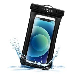 Fixed Voděodolné plovoucí pouzdro na mobil Float Edge, IPX8, černá