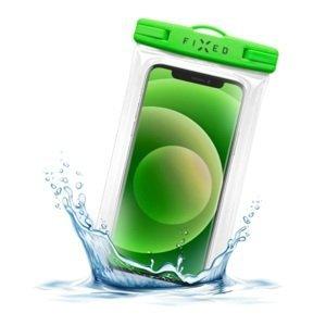 FIXED Voděodolné plovoucí pouzdro na mobil Float Edge, IPX8, limetková