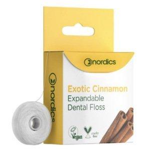 Nordics Expandující dentální nit se skořicí