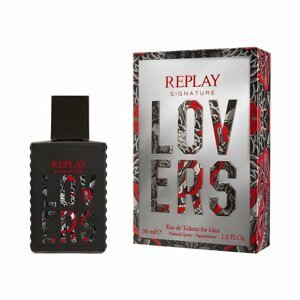 Replay Signature Lovers Man EdT 30ml