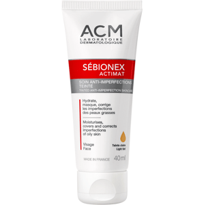 ACM Sébionex Actimat tónovaná péče pro problematickou pleť light 40ml