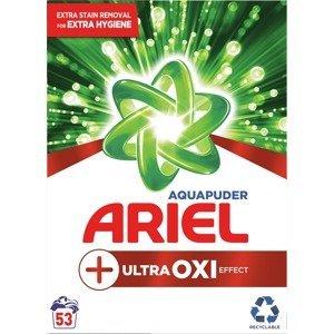 Ariel prací prášek Ultra Oxi Effect (53 pracích dávek), 3,975kg