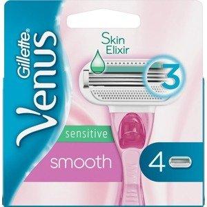 Gillette Venus Sensitive Smooth, Náhradní holicí hlavice 4ks
