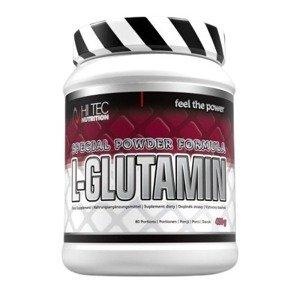 HiTec Nutrition L-Glutamin bez příchutě 400g
