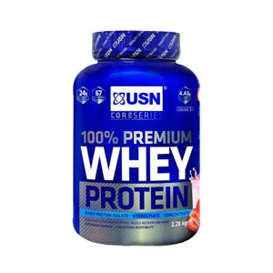 USN 100% Whey Protein Premium jahoda se smetanou 2280g