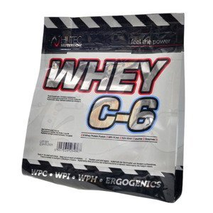 HiTec Nutrition Whey C-6 bílá čokoláda 1000g