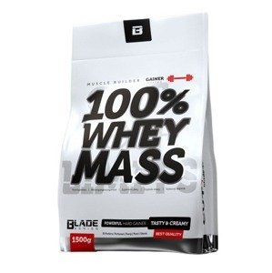 HiTec Nutrition 100% Whey mass gainer Banán 1500g
