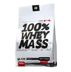 HiTec Nutrition 100% Whey mass gainer jahoda 1500g