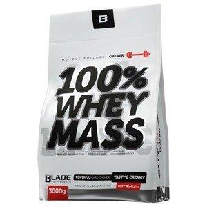 HiTec Nutrition 100% Whey mass gainer jahoda 3000g
