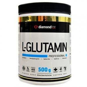 HiTec Nutrition Diamond line L-Glutamin bez příchutě 500g