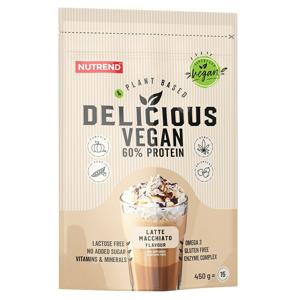 Nutrend Delicious Vegan 60% Protein latte macchiato 450g