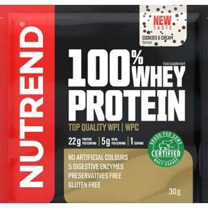 Nutrend 100% Whey Protein cookies cream 30g