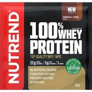 Nutrend 100% Whey Nutrend 100% Whey Protein čokoláda/kakao 30g Čokoláda 30 Gramů