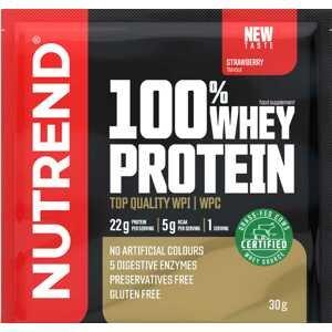 Nutrend 100% Whey Protein jahoda 30g