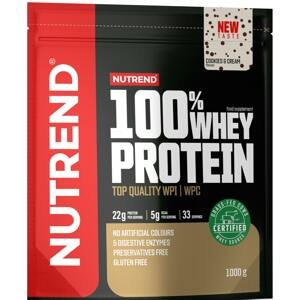 Nutrend 100% Whey Protein cookies cream 1000g