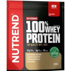Nutrend 100% Whey Protein jahoda 1000g
