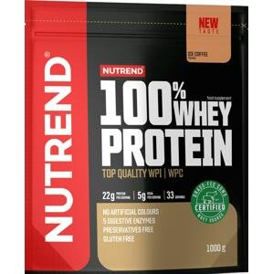 Nutrend 100% Whey Protein ledová káva 1000g