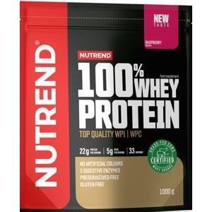 Nutrend 100% Whey Protein malina 1000g
