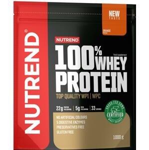 Nutrend 100% Whey Protein pomeranč 1000g