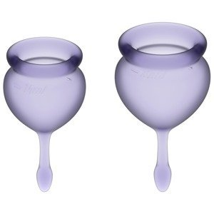 Satisfyer Menstruační kalíšky Feel good lila fialové 2ks