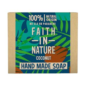 Faith in Nature Tuhé mýdlo s kokosovým olejem 100g