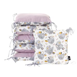ESECO Polštářkový mantinel Owl princess