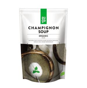 Auga Organic Champignon soup, bio polévka z žampionů, 400g