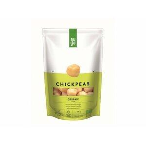 Auga Organic Chickpeas in brine, bio cizrna ve slaném nálevu, 400g
