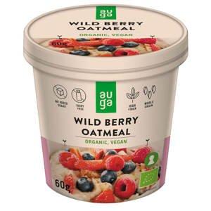 Auga Organic Oatmeal, bio ovesná kaše s lesním ovocem, 60g