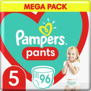 Plenkové Kalhotky Pampers Pants Velikost 5 X96ks, 12-17kg