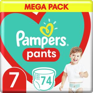 Plenkové Kalhotky Pampers Pants Velikost 7 X74ks, 17kg+