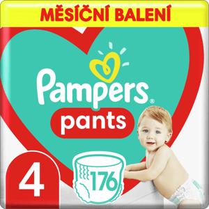 Plenkové Kalhotky Pampers Pants Velikost 4 X176ks, 9-15kg