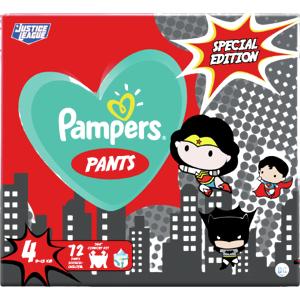 Plenkové Kalhotky Pampers Pants Velikost 4 X72ks, 9-15kg