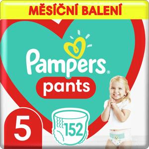 Plenkové Kalhotky Pampers Pants Velikost 5 X152ks, 12-17kg