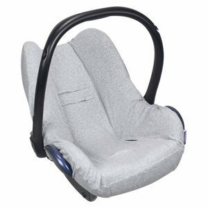 Dooky Potah na autosedačku Seat Cover 0+ UNI Light Grey Melange