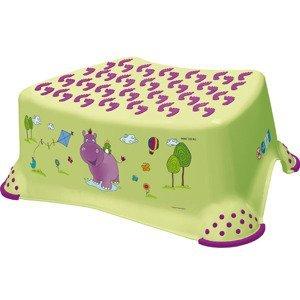 Keeper Stupínek k WC/umyvadlu Hippo zelená