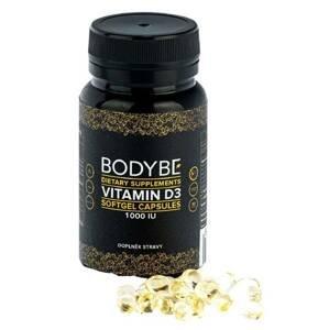 Bodybe Vitamin D3 90 kapslí