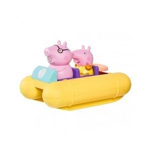 TOOMIES Prasátko Peppa Pig s tatínkem na šlapadle