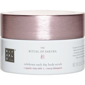 Rituals Sakura, Tělový peeling 250g