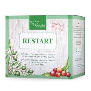 Serafin Restart - bylinný čaj sypaný 50g + 60kapslí