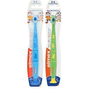 Elmex Children dětský zubní kartáček 3-6 let duopack
