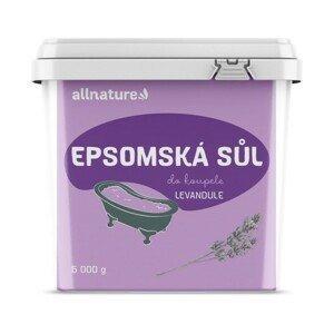 Allnature Epsomská sůl Levandule 5kg