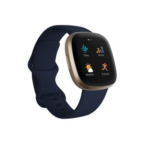 Fitbit Versa 3 Chytré hodinky midnight/soft gold aluminum
