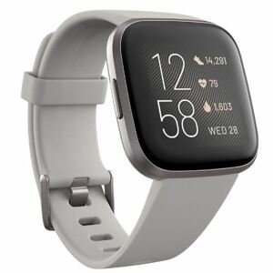 Fitbit Versa 2 (NFC) Chytré hodinky stone/mist grey