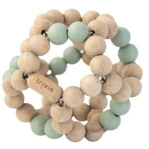 Trixie Dřevěný beads ball Mint