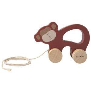 Trixie Dřevěná tahací hračka Mr. Monkey