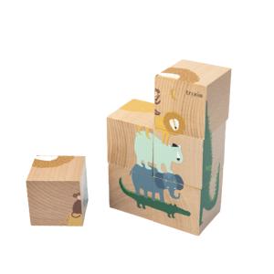 Trixie Dřevěné kostky puzzle