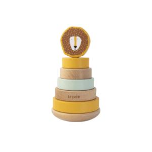 Trixie Dřevěné navlékací kroužky Mr. Lion